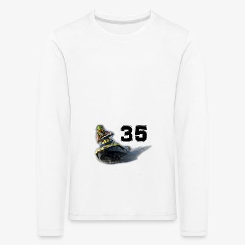 jetski35 - Lasten premium pitkähihainen t-paita