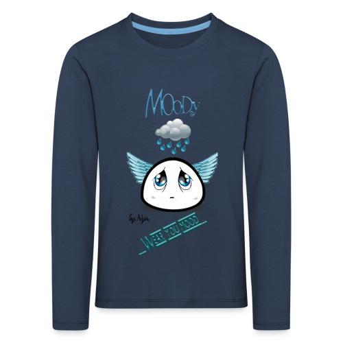 MOODY ANGEL - Maglietta Premium a manica lunga per bambini