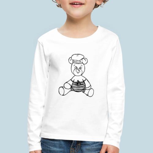 Seebär - Kinder Premium Langarmshirt
