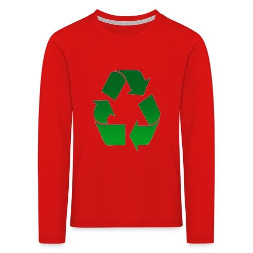 Recyclage - T-shirt manches longues Premium Enfant