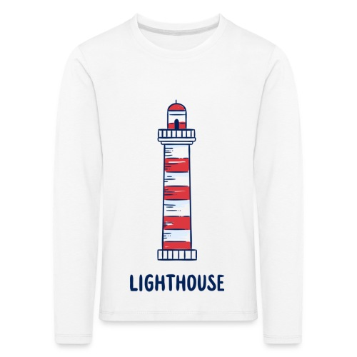 Lighthouse - Kinder Premium Langarmshirt