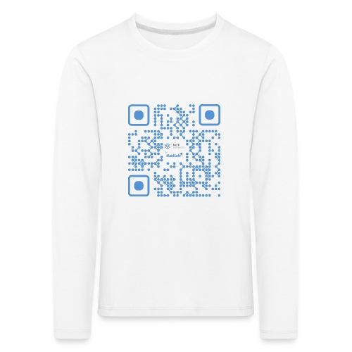 QR Maidsafe.net - Kids' Premium Longsleeve Shirt
