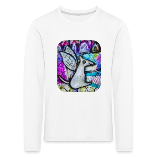 blissful doggie adjusted - Kids' Premium Longsleeve Shirt