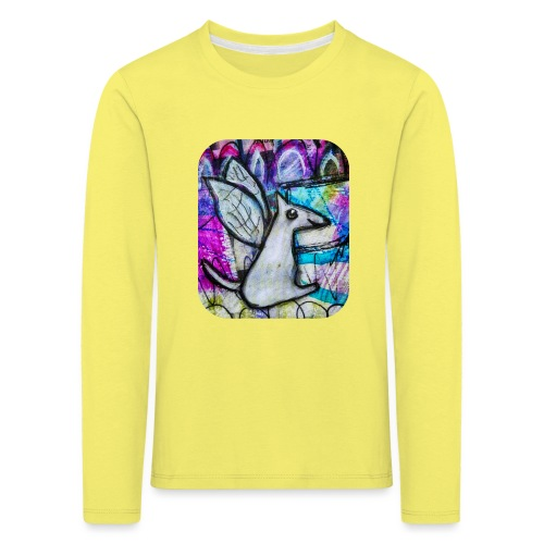 blissful doggie adjusted - Kids' Premium Longsleeve Shirt