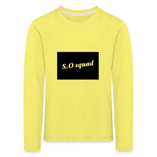 S.O squad - T-shirt manches longues Premium Enfant