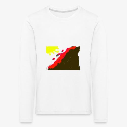 flowers - Børne premium T-shirt med lange ærmer