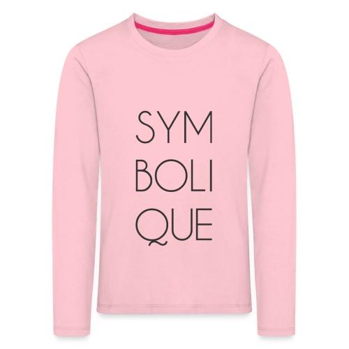 Symbolique - T-shirt manches longues Premium Enfant