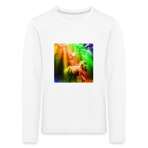 SASSY UNICORN - Kids' Premium Longsleeve Shirt