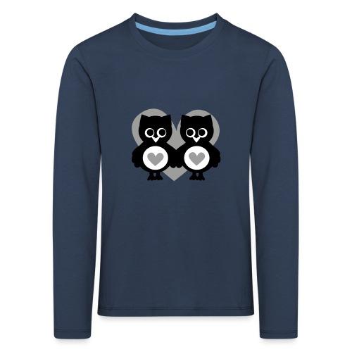 verliebte Eulen - Kinder Premium Langarmshirt