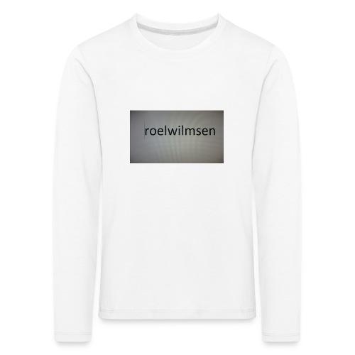 roels t-shirt - Kinderen Premium shirt met lange mouwen