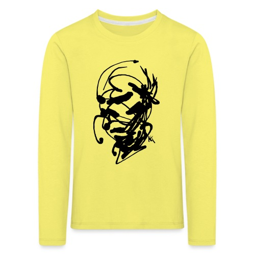 face - Kids' Premium Longsleeve Shirt