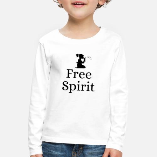 Free Spirit (Vrije Geest) - Kinderen Premium shirt met lange mouwen