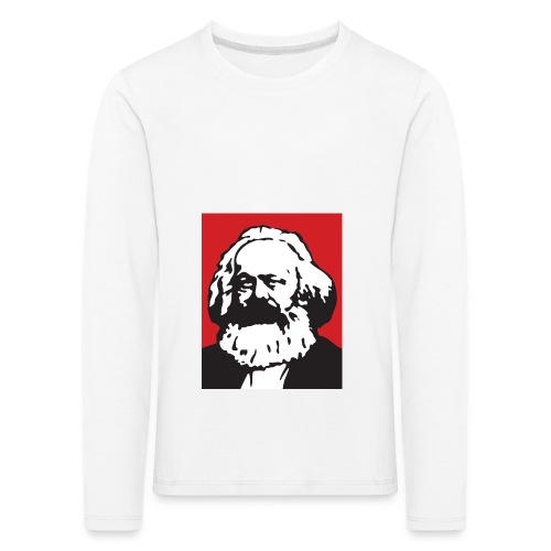 Karl Marx - Maglietta Premium a manica lunga per bambini