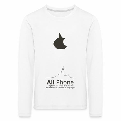 ailphoneok png - T-shirt manches longues Premium Enfant