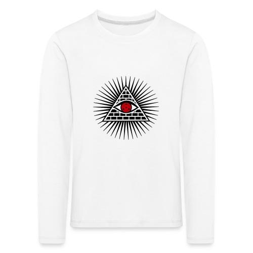 EYES - Koszulka dziecięca Premium z długim rękawem