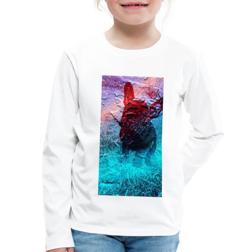 Sweet Frenchie - Kinder Premium Langarmshirt