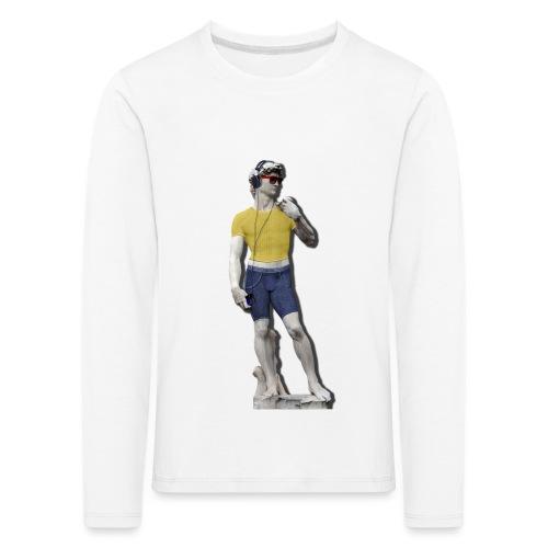 David 2.0 - Maglietta Premium a manica lunga per bambini