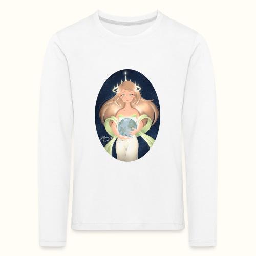 Madre Terra - Maglietta Premium a manica lunga per bambini