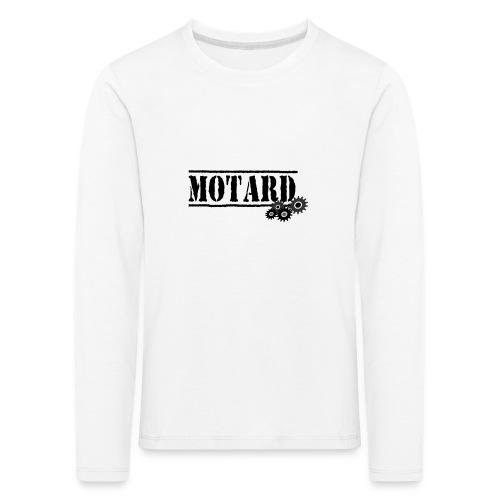 Motard Logo - Maglietta Premium a manica lunga per bambini