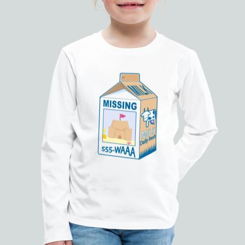 Missing : Sand castle - T-shirt manches longues Premium Enfant