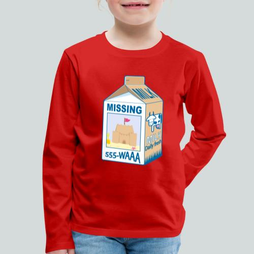 Missing : Sand castle - T-shirt manches longues Premium Enfant