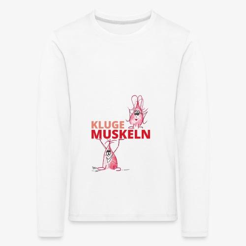 Kluge Muskeln - Kinder Premium Langarmshirt