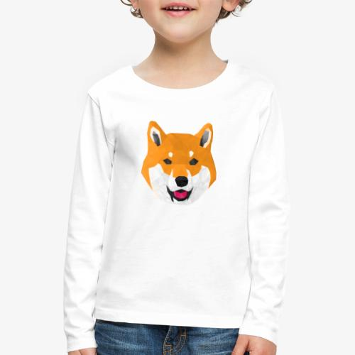 Shiba Dog - T-shirt manches longues Premium Enfant