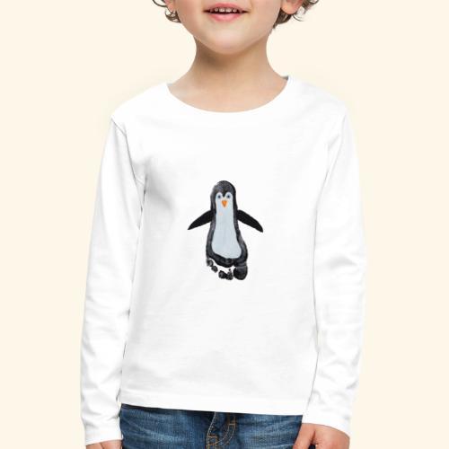 pingu foot - Kinder Premium Langarmshirt