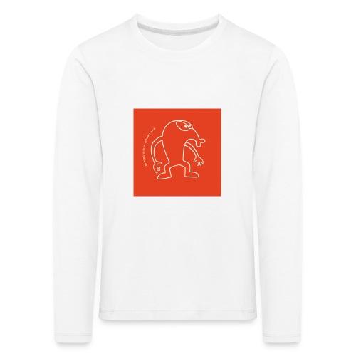 button vektor rot - Kinder Premium Langarmshirt