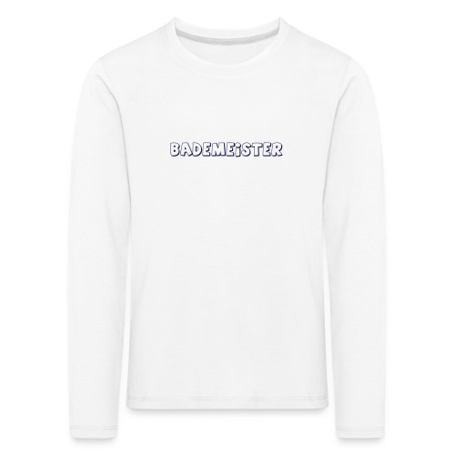 Bademeister Schwimmbad - Kinder Premium Langarmshirt