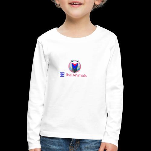 Safe the Animals Kollektion - Kids' Premium Longsleeve Shirt