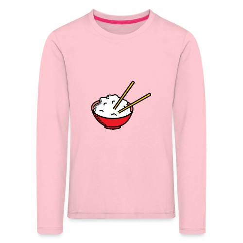 ReisSchüssel - Kinder Premium Langarmshirt