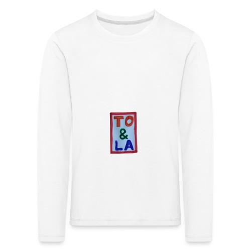 TO & LA - Koszulka dziecięca Premium z długim rękawem