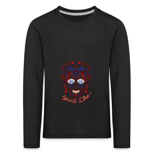 Skull Tattoo Art - Kids' Premium Longsleeve Shirt
