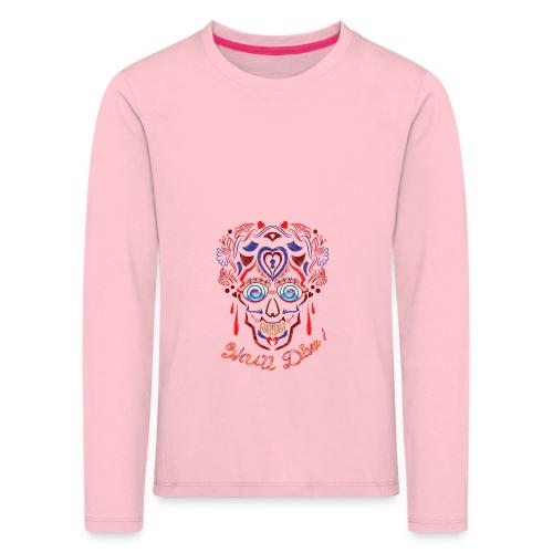 Skull Tattoo Art - Kids' Premium Longsleeve Shirt