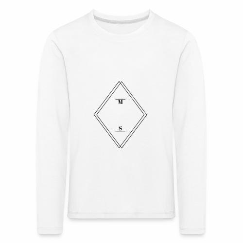 MS - Børne premium T-shirt med lange ærmer