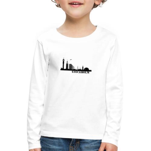 Stockholm - Långärmad premium-T-shirt barn