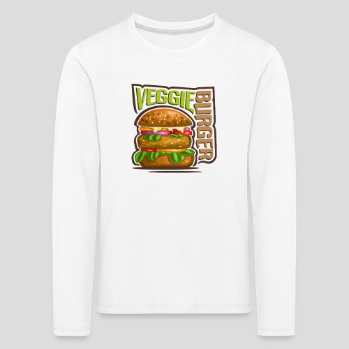 Veggie burger - T-shirt manches longues Premium Enfant