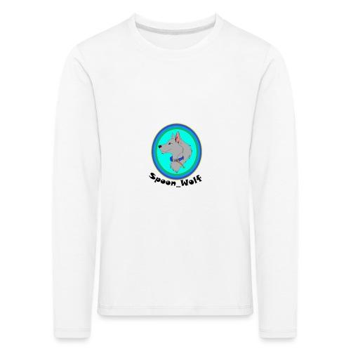 Spoon_Wolf_2-png - Kids' Premium Longsleeve Shirt