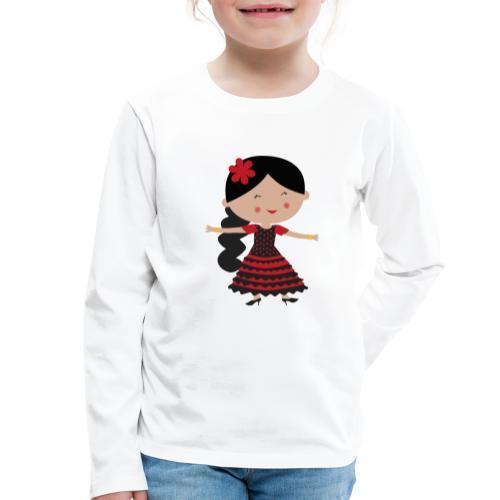 Happy Meitlis - Spanien - Kinder Premium Langarmshirt