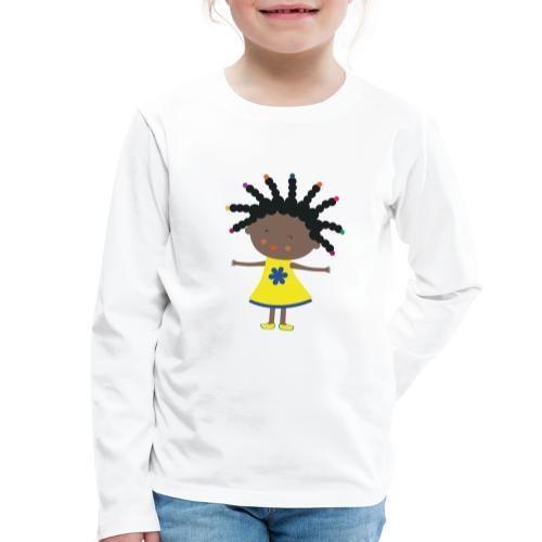 Happy Meitlis - Afrika - Kinder Premium Langarmshirt