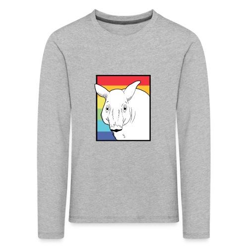 Tapir mit Regenbogen Farben - Kinder Premium Langarmshirt