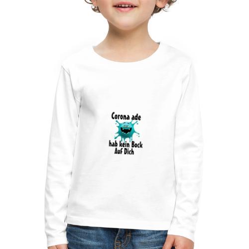 Kein Bock - Kinder Premium Langarmshirt