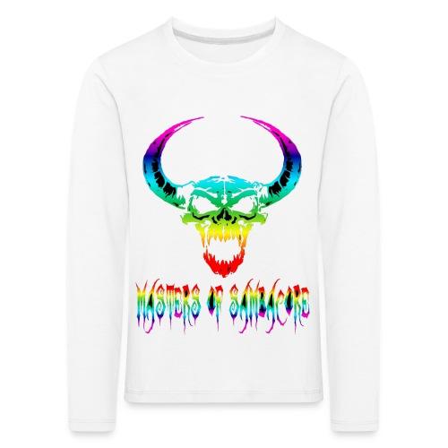 mos2 png - Kinderen Premium shirt met lange mouwen