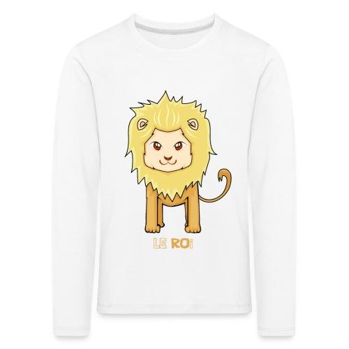 Le roi - T-shirt manches longues Premium Enfant