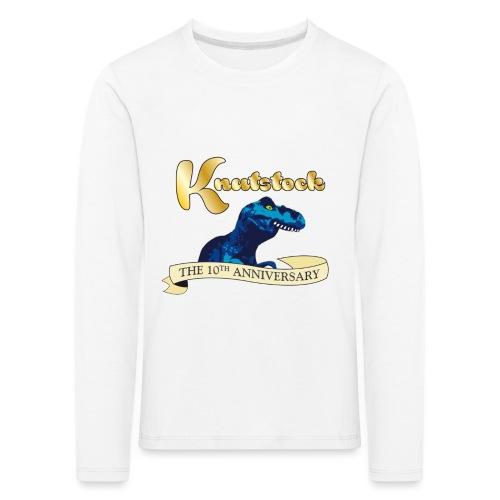 KnutstockAnniversaryBanner Thyranathaurus - Kinder Premium Langarmshirt