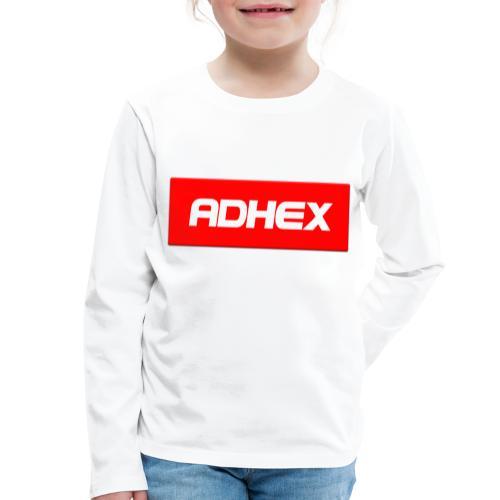 Adhex X Suprim - Camiseta de manga larga premium niño