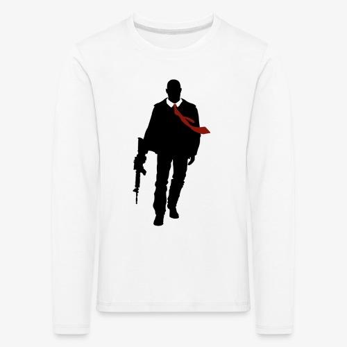 PREMIUM SO GEEEK HERO - MINIMALIST DESIGN - T-shirt manches longues Premium Enfant