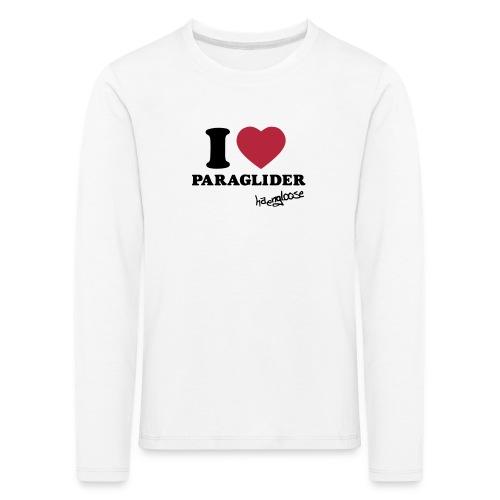 iloveparaglider - Kinder Premium Langarmshirt
