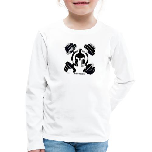 ITALIANWARRIORS90cross - Maglietta Premium a manica lunga per bambini